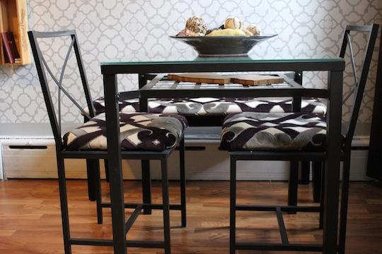 Ikea Hack - GRANAS Dining Set AFTER