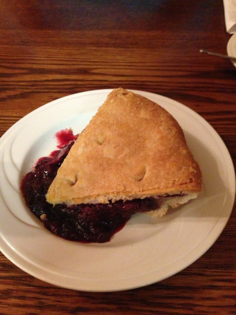 Duarte Tavern's olallieberry pie