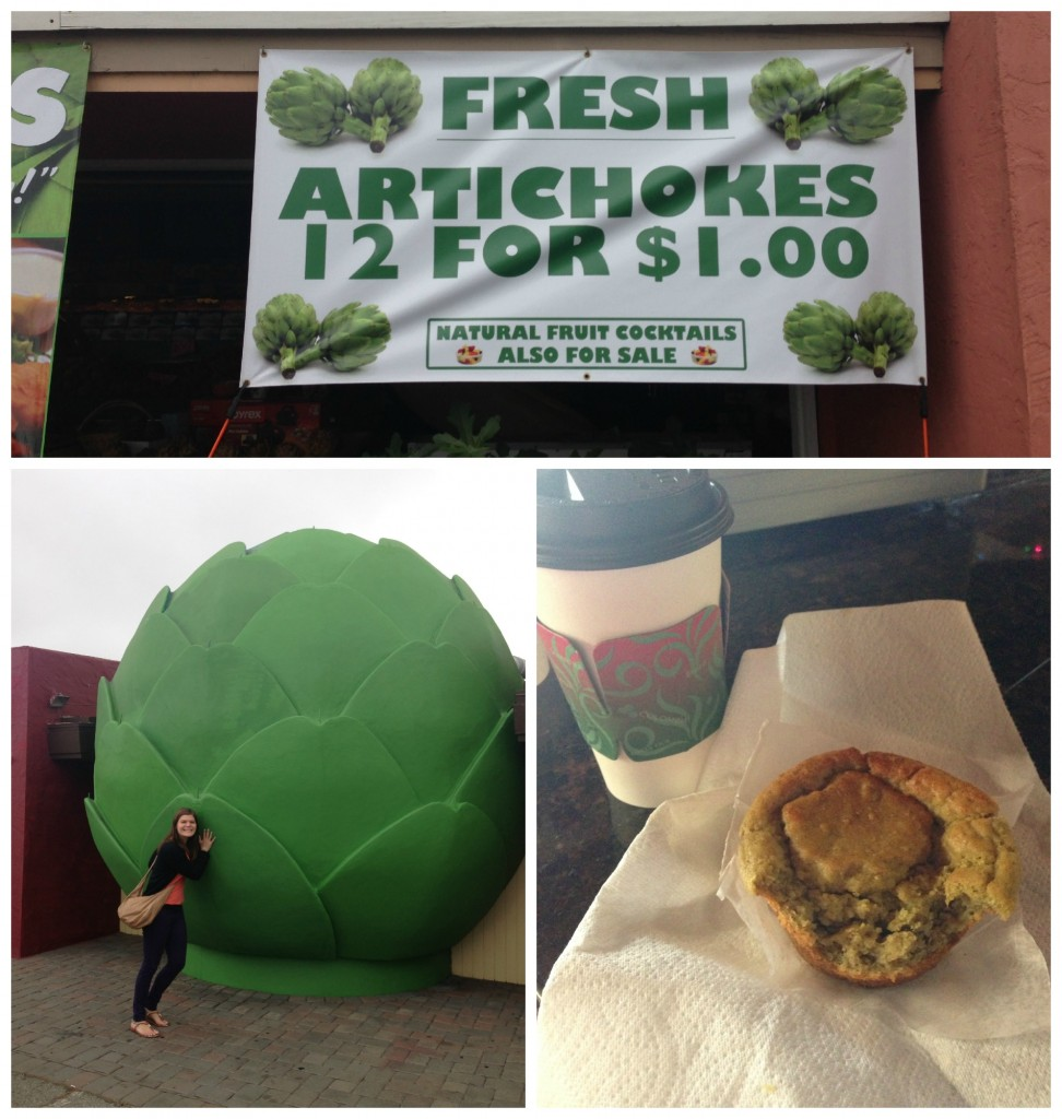 Castroville, CA - artichoke capital of the world