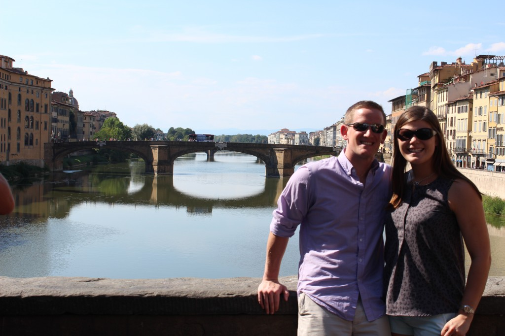 Love on the Ponte Vecchio