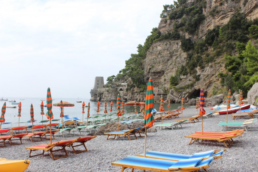 Spiaggia Fornillo, Positano