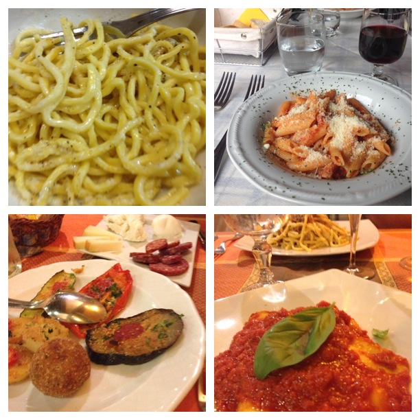 The amazing foods of Rome