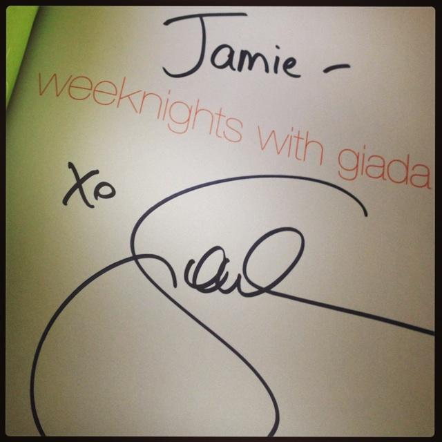 NYCWFF Giada Book Signing