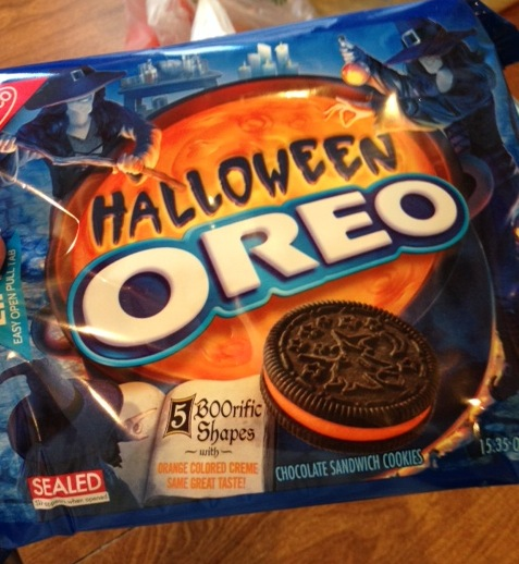 Pumpkins, hayrides, and Halloween Oreos .... oh these are a few of my favorite things.