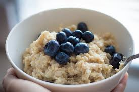 Slow-cooked oatmeal provides a balanced portion of fats, complex carbohydrates, and plant protein, along with good doses of iron and B vitamins.