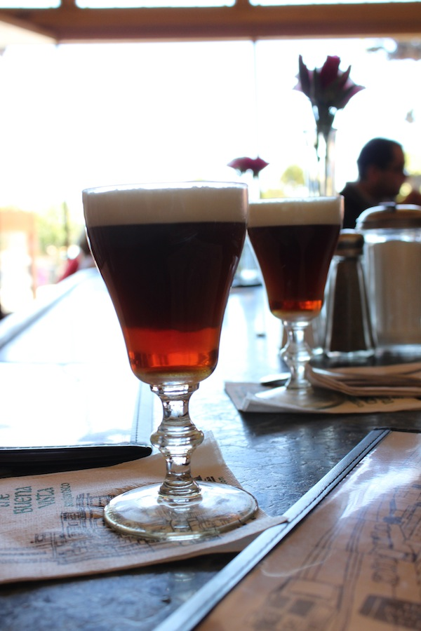 The original Irish coffee in America at Buena Vista Cafe