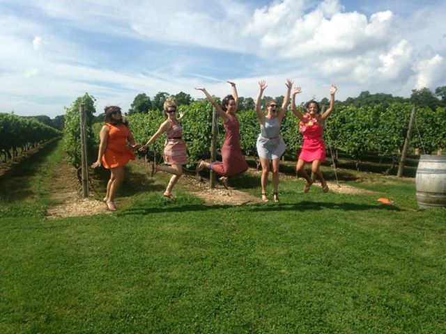 Jump for joy! It's alcoholic grape juice!