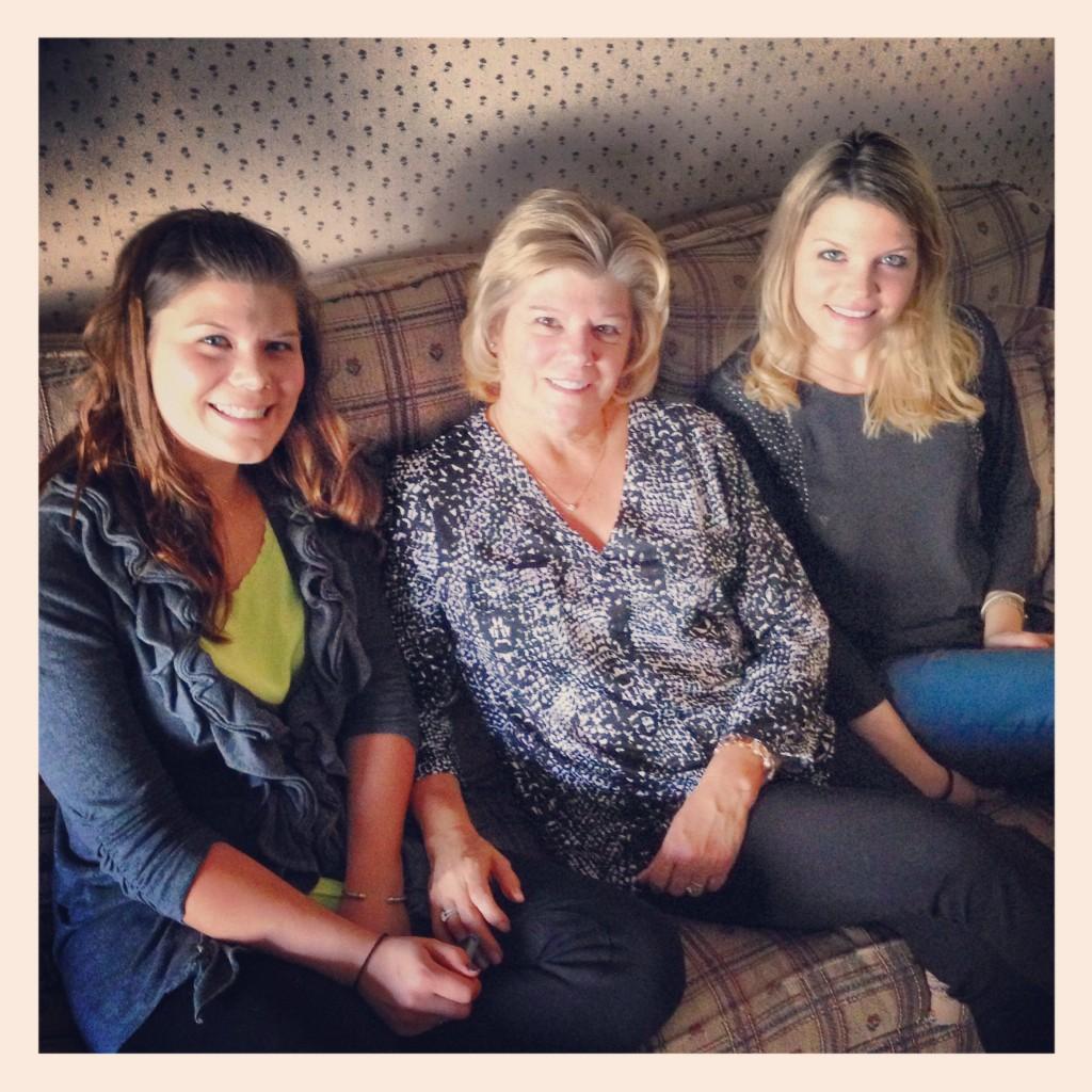 Me, Mom, and Sister