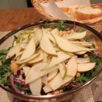 Arugula, Pear, Chickpea Salad
