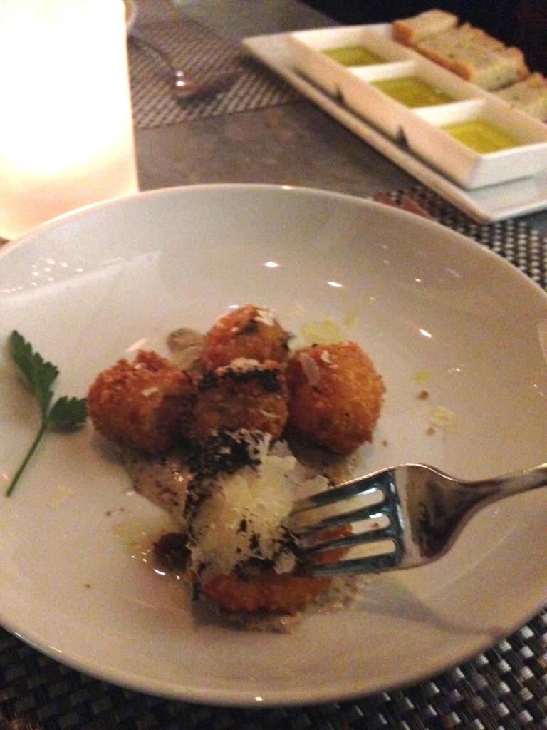 Fig & Olive | Mushroom Croquettes