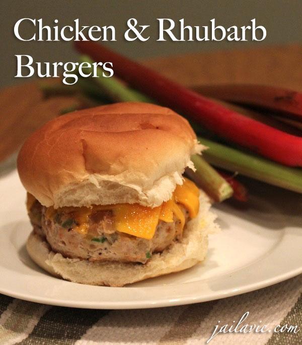 ChickenRhubarbBurgers