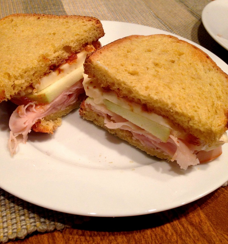 Turkey Apple Brie & Fig Sandwich