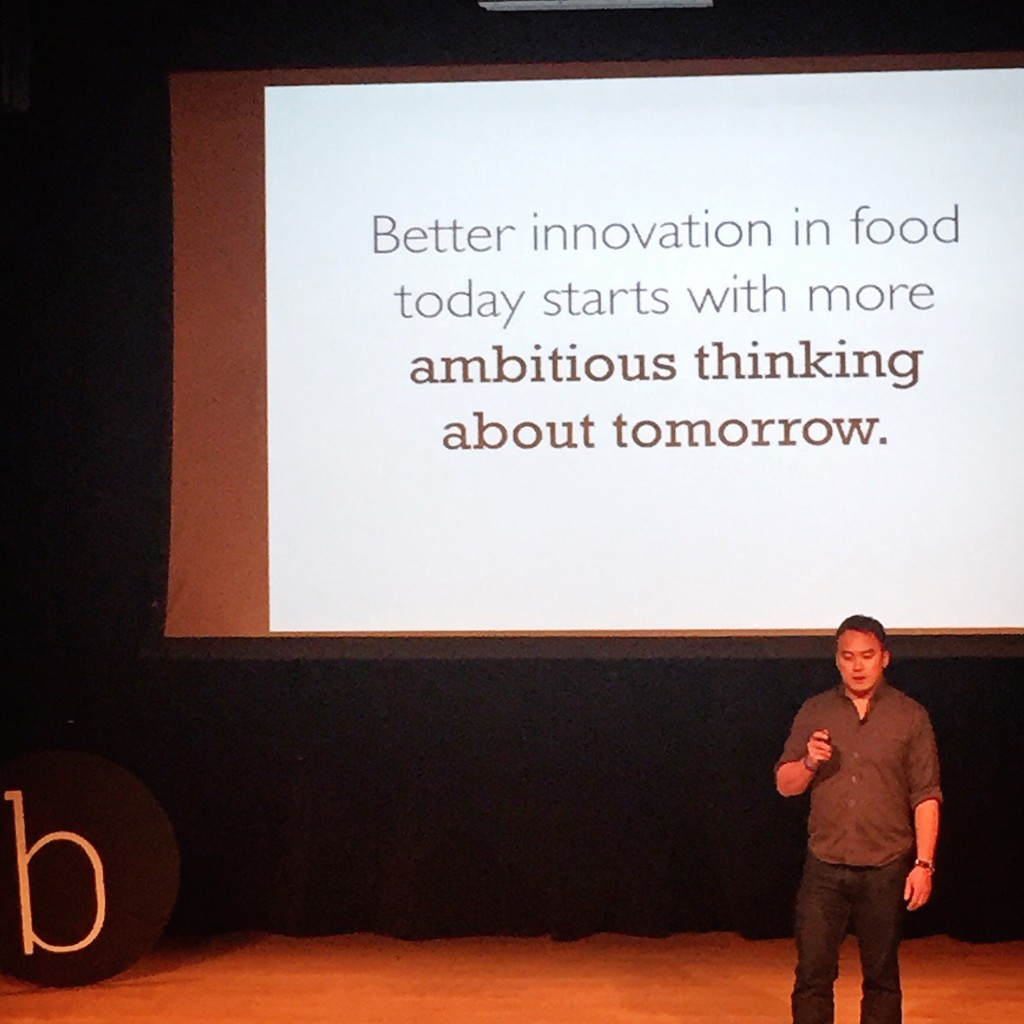 """Better innovation in food today starts with more ambitious thinking about tomorrow."" - Mike Lee, The Future Market"