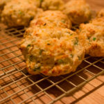 Cheddar Chive Scallion Biscuits